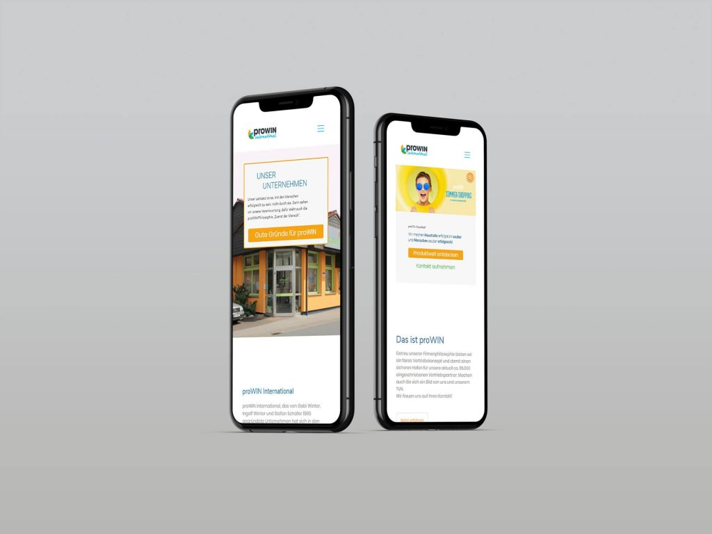 proWIN Direktion Krauskopf in Pohlheim – Relaunch