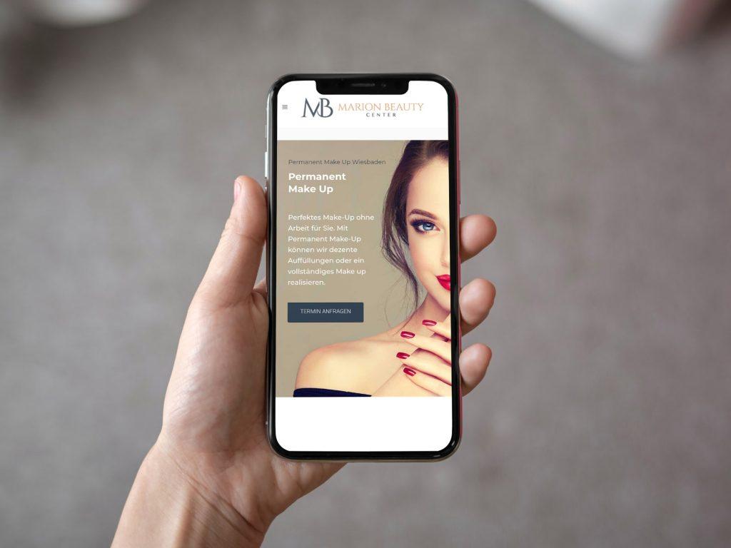 Marion Beauty Center in Wiesbaden steigt in die Online Welt auf